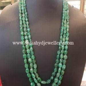 Real Emerald Aveza 3 Layer String