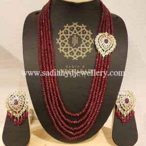Red Side Broach 5 Layer String