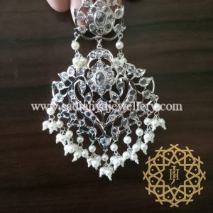 Silver Plated Sumbul Earring